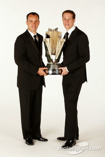 2012 champion Brad Keselowski with crew chief Paul Wolfe