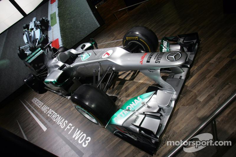 Stand , Mercedes AMG Petronas F1 Team