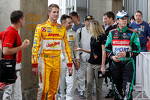 Benito Guerra and Ryan Hunter-Reay