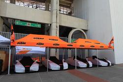 The ROC KTM cars