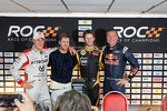 Michael Schumacher, Sebastian Vettel, Romain Grosjean and David Coulthard