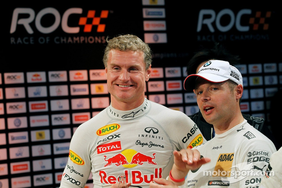 David Coulthard and Andy Priaulx