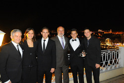 Porsche group photo with Olaf Manthay