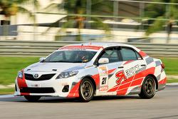 #21 Toyota Altis: WS Lai, KK Soh, YC Wong - Team Type R Racing