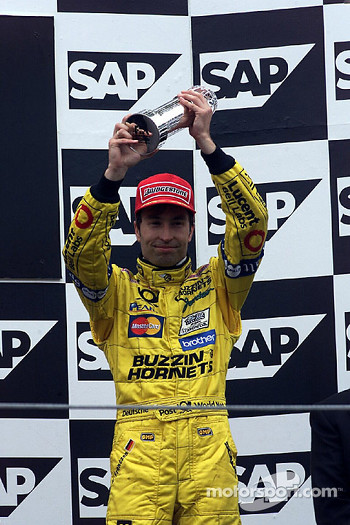 Podium: third place Heinz-Harald Frentzen