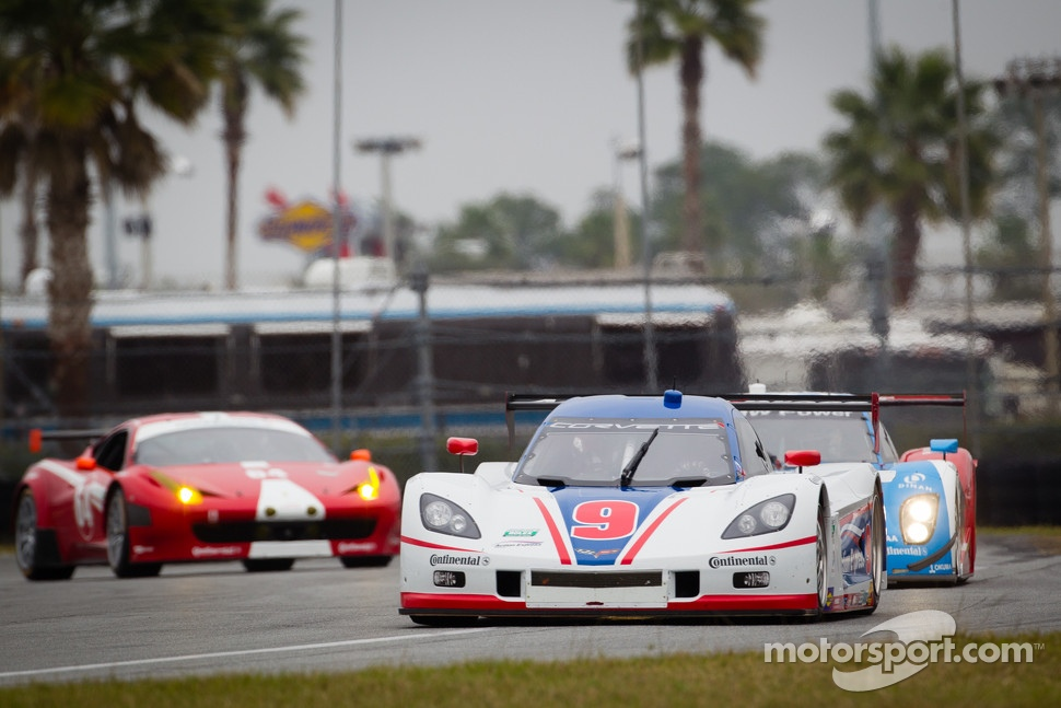 #9 Action Express Racing Corvette DP: Joao Barbosa, Brian Frisselle, Burt Frisselle