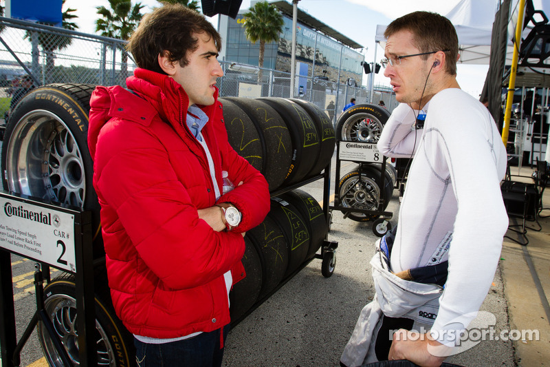 Tristan Vautier and Sébastien Bourdais