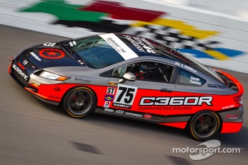 #75 Compass360 Racing Honda Civic SI: Ryan Eversley, Kyle Gimple