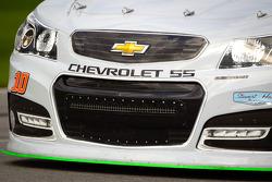 Danica Patrick, Stewart Haas Racing Chevrolet, front detail