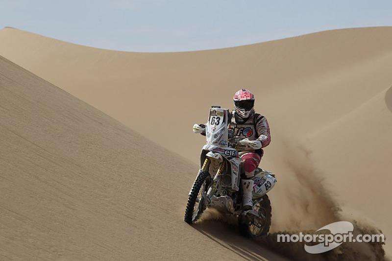 #63 Yamaha: Laurent Lazard