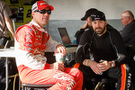 Kevin Harvick, Richard Childress Racing Chevrolet and Paul Menard, Richard Childress Racing Chevrolet