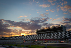 Sunset on Daytona