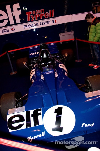 Jackie Stewarts 003 Tyrell F1 car
