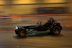 Caterham Ride along display