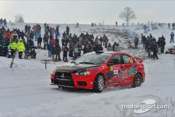 Ricardo Trivino and Alex Haro, Mitsubishi Evo X