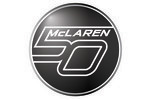 McLaren's 50th anniversary logo