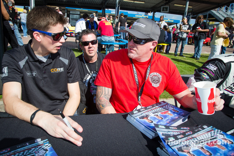 Colin Braun and Paul Tracy