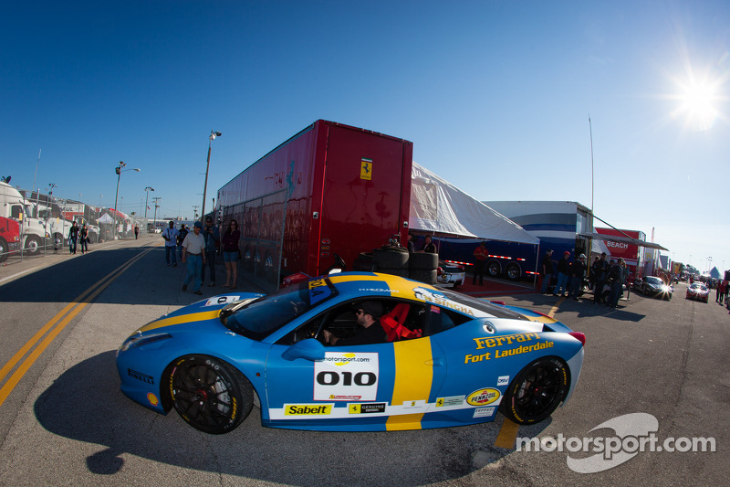#010 Ferrari of Fort Lauderdale Ferrari 458