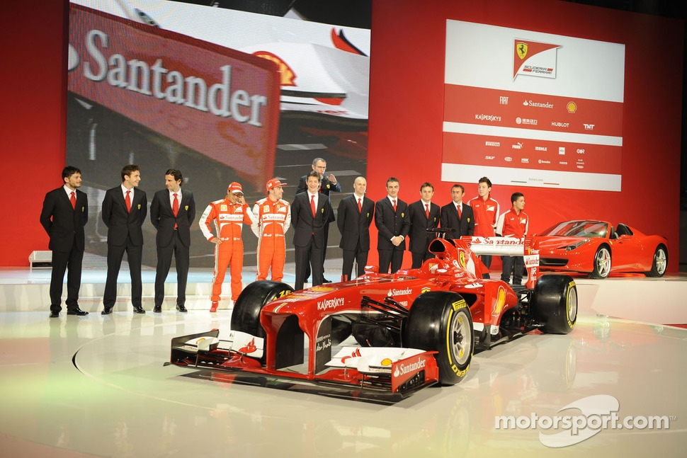 The Ferrari F138 unveiling