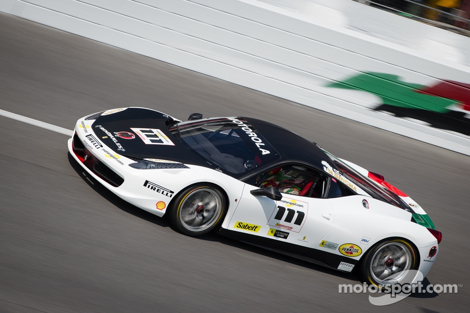 #111 Ferrari of Houston Ferrari 458: Alfonso Celis