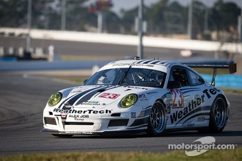 #23 Alex Job Racing Porsche GT3: Jeroen Bleekemolen, Damien Faulkner, Marco Holzer, Cooper MacNeil
