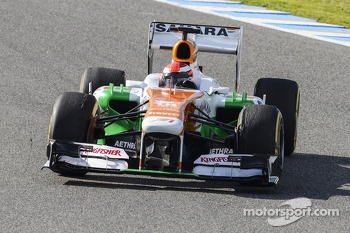 James Rossiter, Sahara Force India F1 VJM06 Simulator Driver