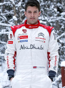 Scott Martin, Citroën Total Abu Dhabi World Rally Team