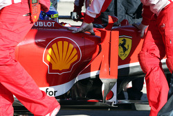 Felipe Massa, Ferrari F138 sidepod detail