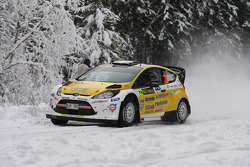Pontus Tideman and Stig Rune, Ford Fiesta WRC