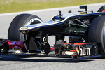 Lotus F1 E21 nosecone and front wing
