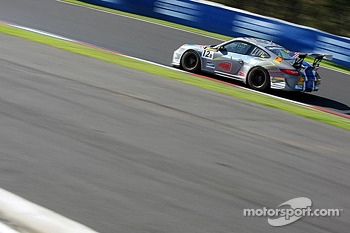 #12 Competition Motorsports Porsche 997 GT3 Cup: David Calvert-Jones, Alex Davison, James Davison
