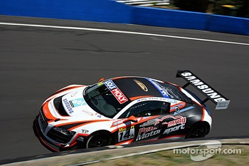 #14 Peter Conroy Motorsport Audi R8 LMS: Peter Conroy, Rob Huff, James Winslow