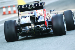 Red Bull Racing RB9 rear diffuser