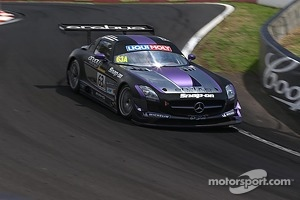 #63 Erebus Motorsport Mercedes SLS AMG GT3: Tim Slade, Lee Holdsworth, Peter Hackett
