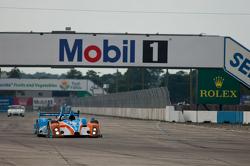 #8 BAR 1 Motorsports Oreca FLM09: Kyle Marcelli, Chris Cumming, Stefan Johansson