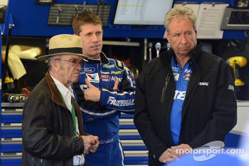 Jack Roush and Carl Edwards, Roush Fenway Racing Ford