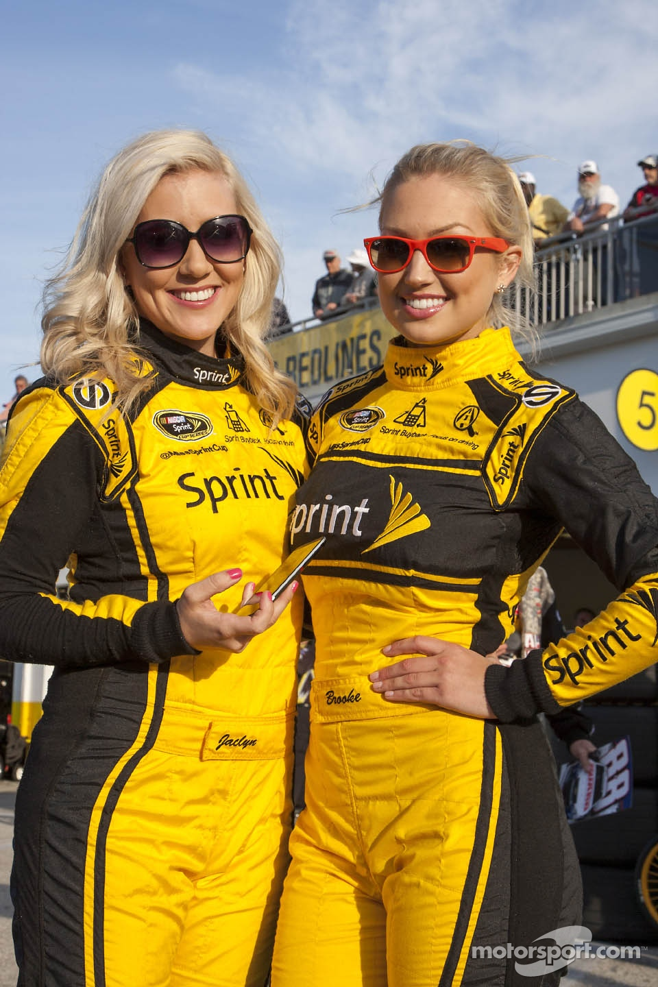 The lovely Miss Sprint girls