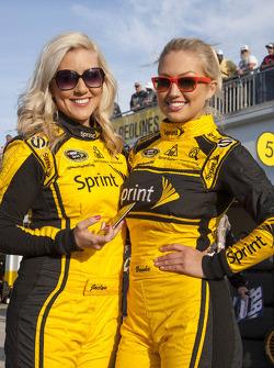 The lovely Miss Sprint girls