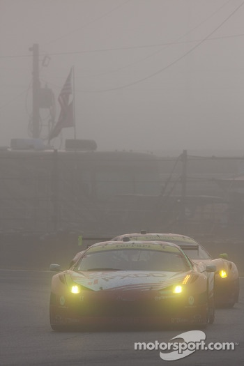 Foggy race action