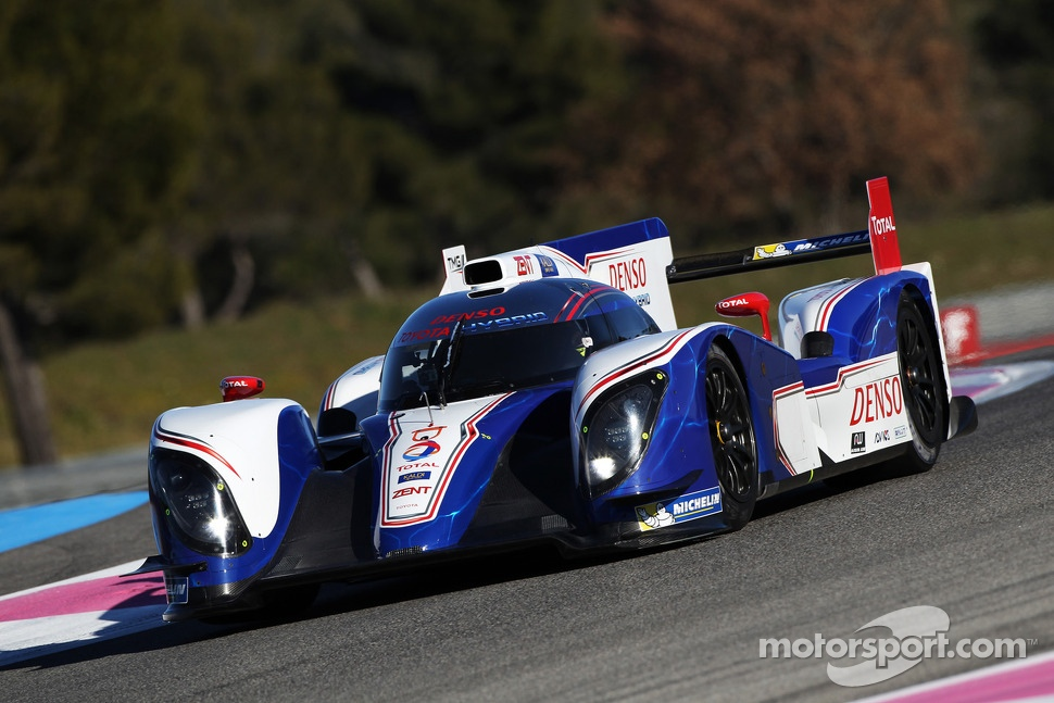 Alexander Wurz tests the Toyota TS030 Hybrid