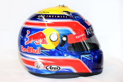 The helmet of Mark Webber, Red Bull Racing