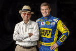 Ricky Stenhouse Jr. with Jack Roush