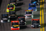 Ty Dillon and Johnny Sauter battle for the lead
