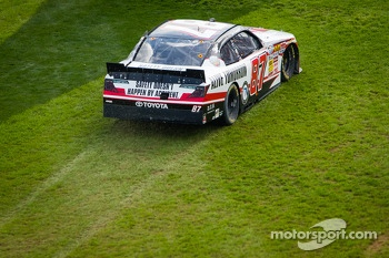 Joe Nemechek in the grass