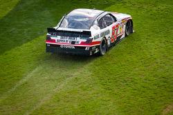 Joe Nemechek in the grass