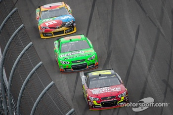 Jeff Gordon, Hendrick Motorsports Chevrolet, Danica Patrick, Stewart-Haas Racing Chevrolet, Kyle Busch, Joe Gibbs Racing Toyota