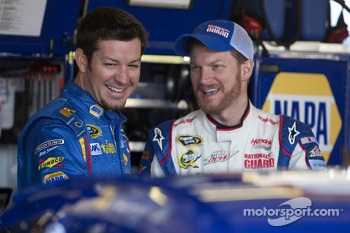 Martin Truex Jr. and Dale Earnhardt Jr.