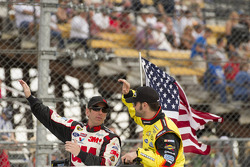 Greg Biffle and Paul Menard