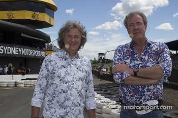 James May and Jeremy Clarkson