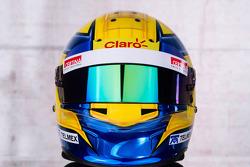 The helmet of Esteban Gutierrez, Sauber